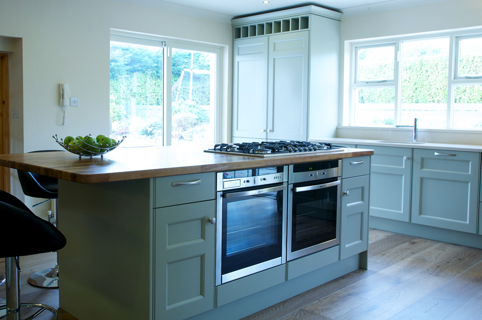 Light Grey Classic Kitchen_Shaker_Black Granite Counter Top_Robert Mooney Furniture_South Dublin_North Wicklow
