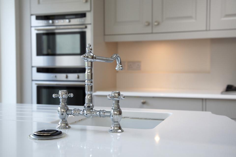 Light Grey Classic Kitchen_Shaker_Black Granite Counter Top_Robert Mooney Furniture_South Dublin_North Wicklow