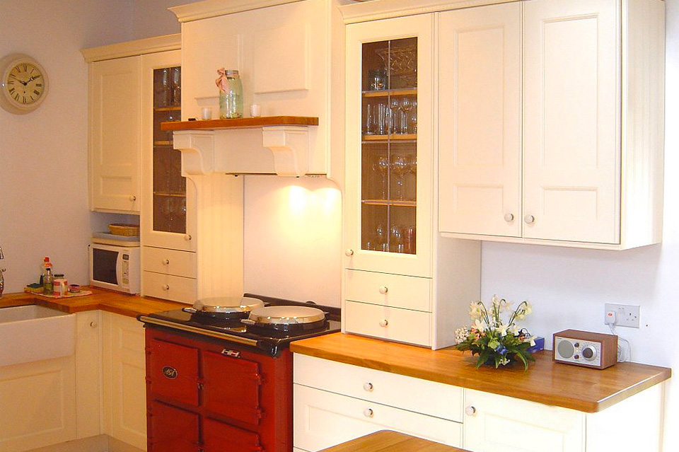 Cream Classic Kitchen_Shaker_Red Aga_Robert Mooney Furniture_South Dublin_North Wicklow