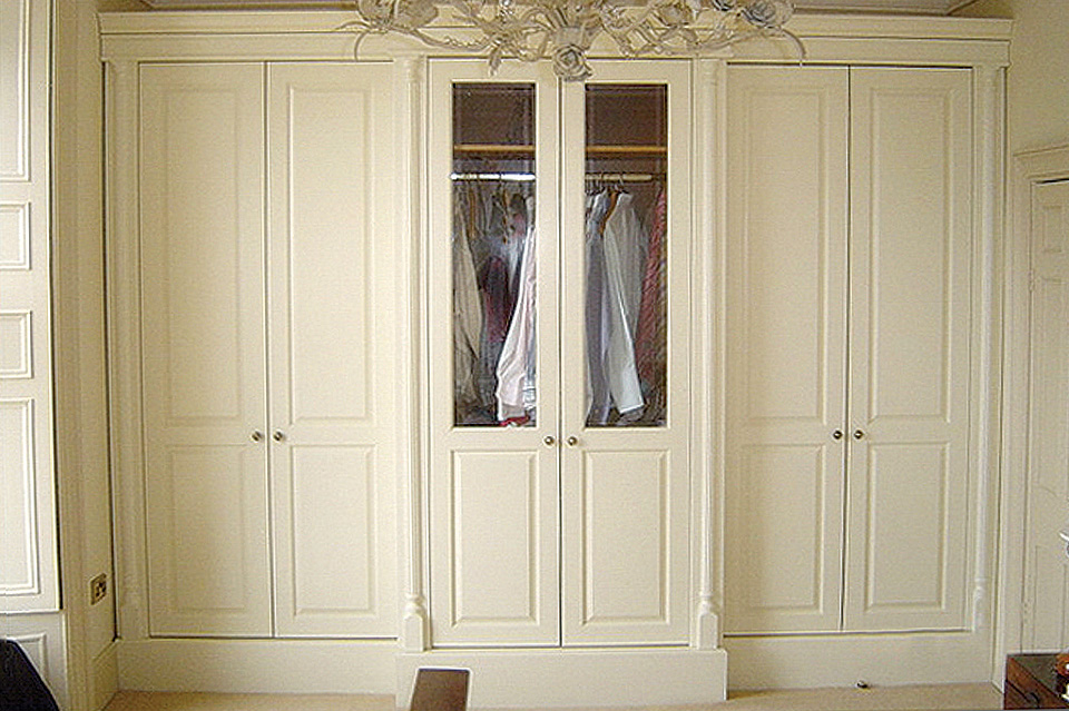 Classic White Wardrobe_Glazing Panels_Robert Monney_Dublin South_Wicklow North